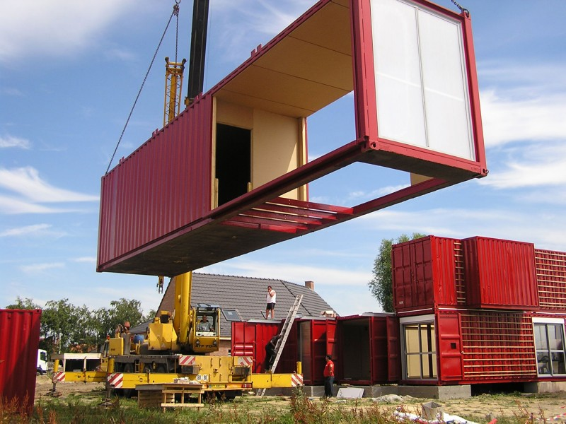 container home easy construction
