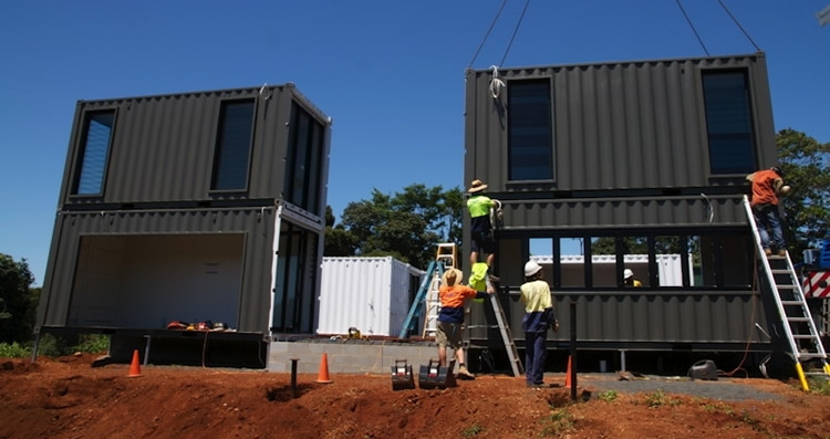 container home doors and windows