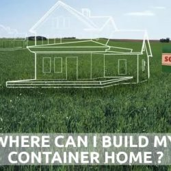 where can I build my container home